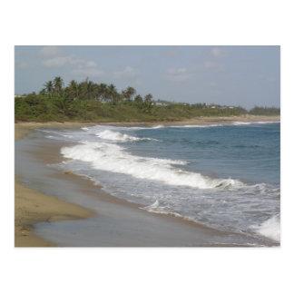 Playa de Hatillo Cartão Postal