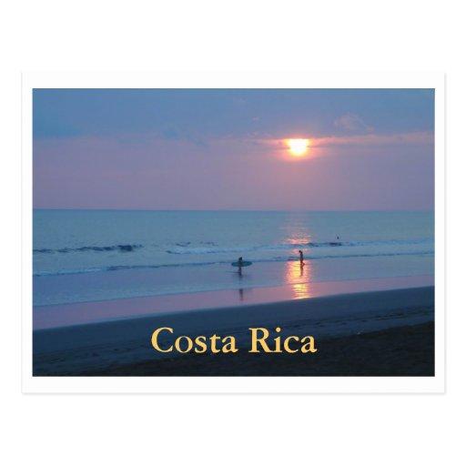 Playa Hermosa, Costa Rica Cartoes Postais