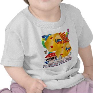Playing-Politics-V-1 Camiseta