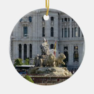 Plaza de Cibeles, ornamento de Madrid