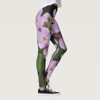 Plhox floral malva leggings