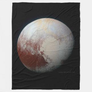 Pluto - o planeta o maior do anão cobertor de velo