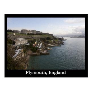 Plymouth, Inglaterra Cartão Postal