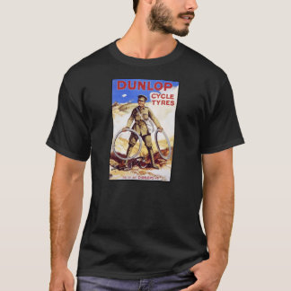 Pneumáticos do ciclo de Dunlop Camiseta