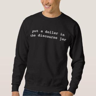 pnha um dólar no frasco do discurso suéter