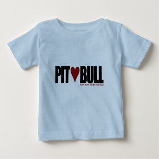 Poço (amor) Bull Camiseta Para Bebê