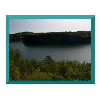 Poço da mina em Virgínia, cartão do manganês