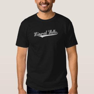 Poços minerais, retros, t-shirts