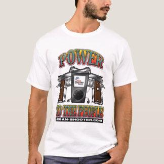 Podcast urbano do atirador camiseta