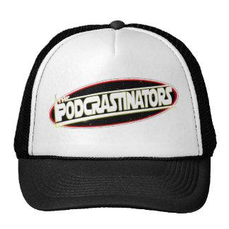 Podcrastinators: Chapéu do logotipo Boné