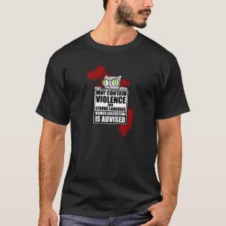 Pode conter a violência: Camisa espumosa