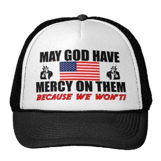 Pode o deus ter o compaixão neles! boné