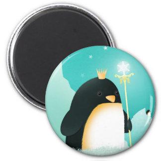 Poder aos pinguins - ímãs do imperador ímã redondo 5.08cm