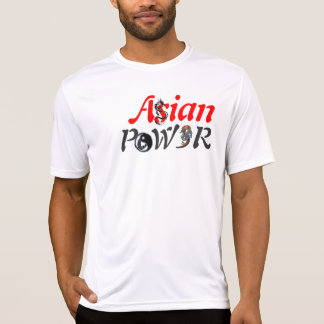 Poder asiático! tshirts