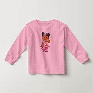 Poder cor-de-rosa camiseta infantil