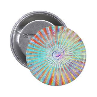 Poder da alma - ondas da máscara da luz da energia bóton redondo 5.08cm
