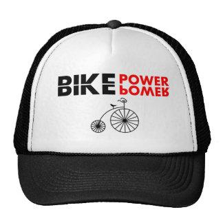 poder da bicicleta boné