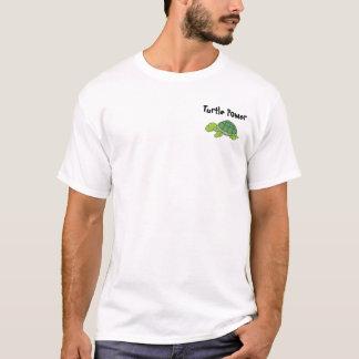 Poder da tartaruga camiseta
