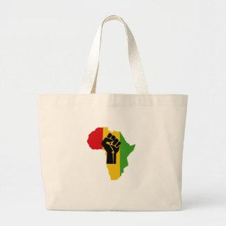Poder de África - reggae Bolsa Tote Grande