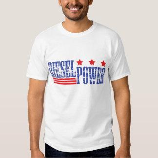 Poder diesel americano tshirt