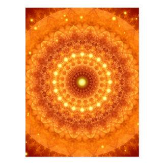 Poder divino da mandala criado por Tutti Cartão Postal