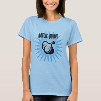 Poder do alho camiseta