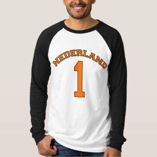 Poder do Dutch da camisa do basebol T de