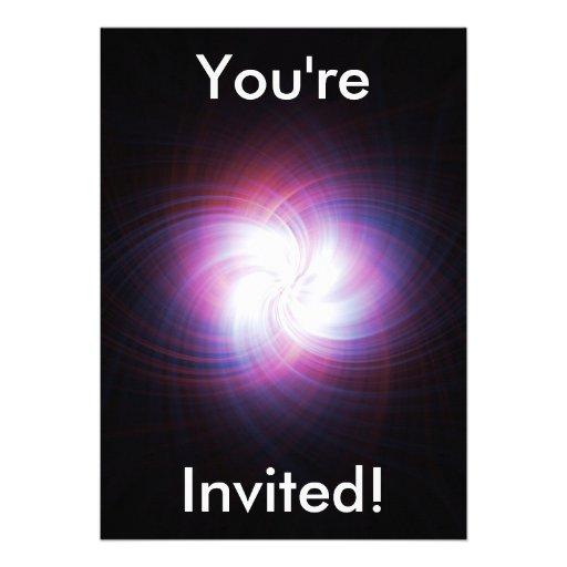 Poder do Fractal Convite Personalizado