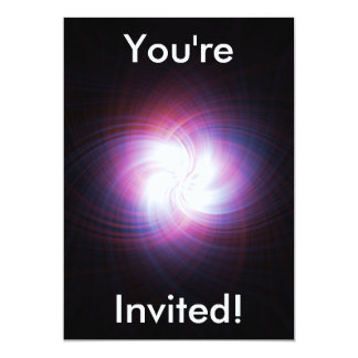 Poder do Fractal Convite 12.7 X 17.78cm