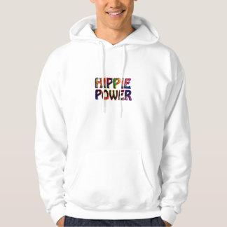 Poder do Hippie Moletom Com Capuz