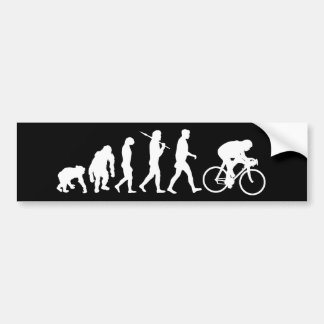 Poder do pedal dos ciclistas do ciclismo que compe adesivos