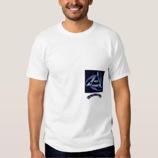 Poder e realização do logotipo tshirts