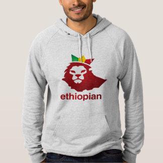Poder etíope - Hoodie do pulôver do velo