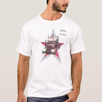 Poder ocidental do diesel da estrela camiseta