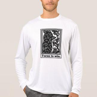 Poderosos racionais realizam produtivo t-shirt