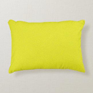 Poeira de estrela amarela almofada decorativa