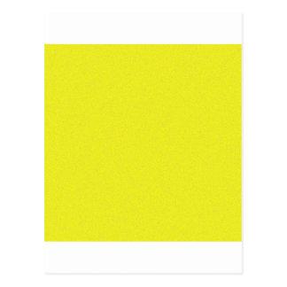 Poeira de estrela amarela cartao postal