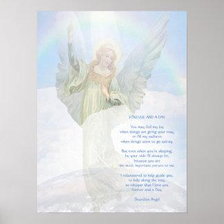 Poema do anjo-da-guarda pôster