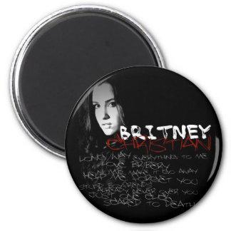 Poemas líricos do cristão de Britney Imãs De Geladeira