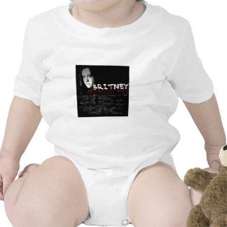 Poemas líricos do cristão de Britney Macacãozinho Para Bebês