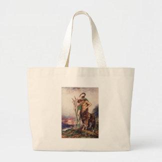 Poeta inoperante carregado por um centauro bolsa
