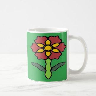 Poinsétia bonito caneca de café