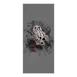 Poison_dart_frog 10.16 X 22.86cm Panfleto