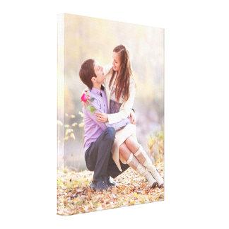 Polegadas da foto do casal 18x24 impressão em canvas