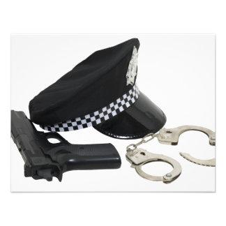 PolicemanKit081609 Convites Personalizados