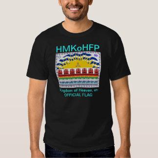 Polícia da forma, t-shirt do reino dos céus