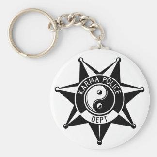 Polícia das karmas! chaveiro