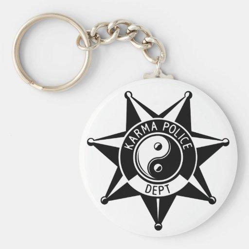 Polícia das karmas! chaveiros