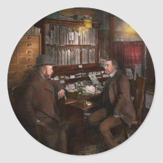 Polícia - o detective privado - 1902 adesivo