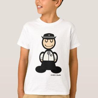Policial (lisa) camiseta